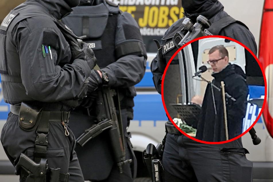 Leipzig: Als Polizisten getarnt: Schlägerkommando bricht rechtem Politiker beide Beine