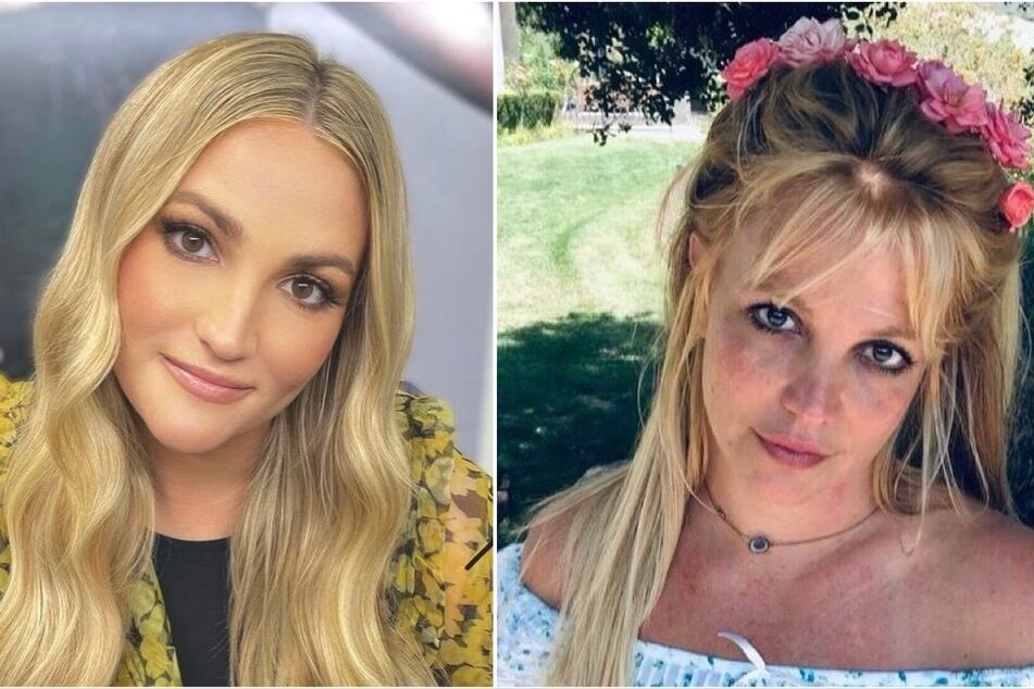 Jamie Lynn Spears (l.) addressed rumors that her sister, Britney (r.) helped pay for her Florida condo.