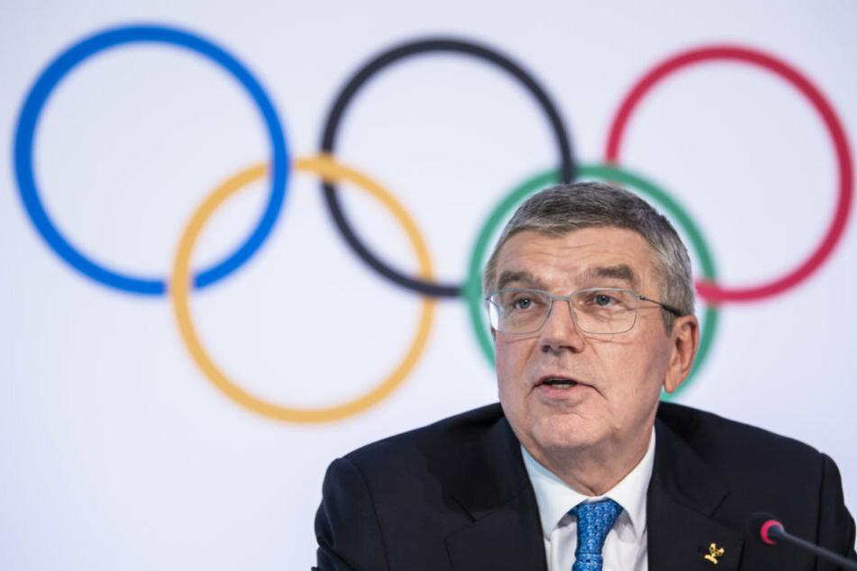 IOC-Präsident Thomas Bach (66).