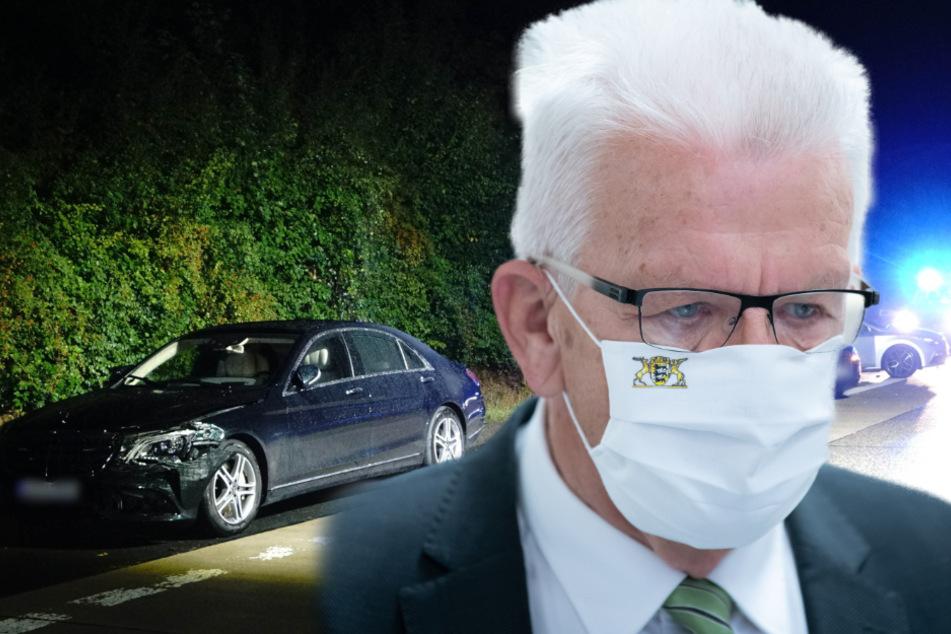 Nach Tod von kleinem Mädchen (†1) durch Unfall: Winfried Kretschmann sagt Termine ab