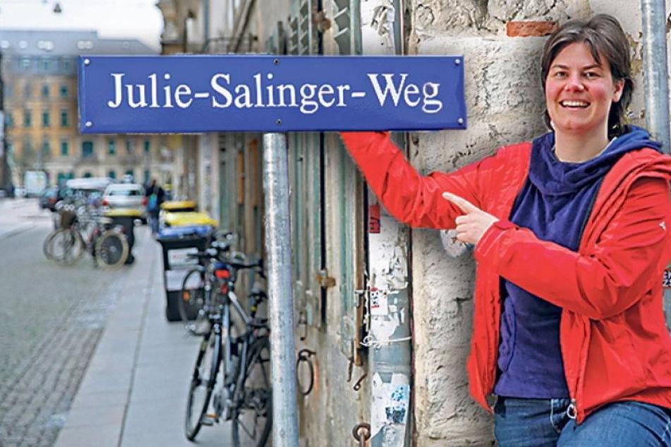 Mag Dresden keine Frauen auf Straßenschildern?