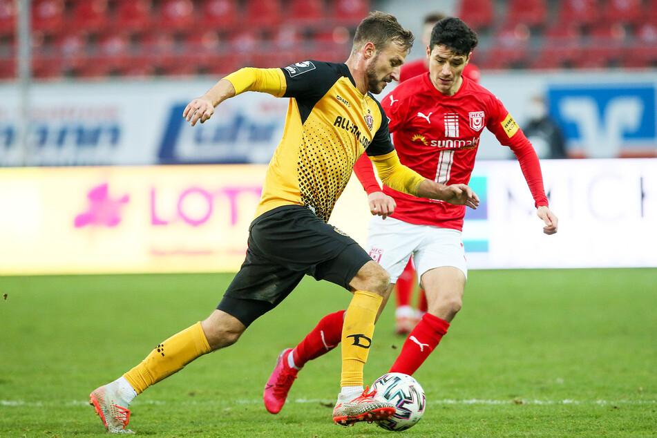 Dynamo muss bei den verbleibenden Spielen, unter anderem gegen Halle, alles geben, damit der Aufstieg gelingt. Das wird nicht leicht, weiß Kauczinski.