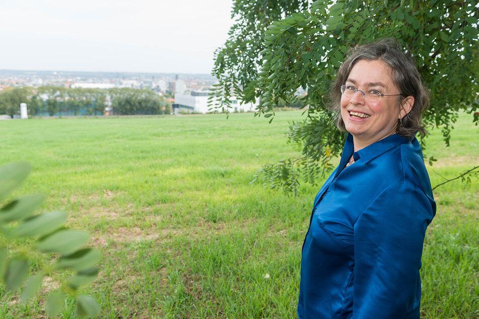 Kämpft seit Jahren für den Südpark: Umweltbürgermeisterin Eva Jähnigen (54, Grüne).