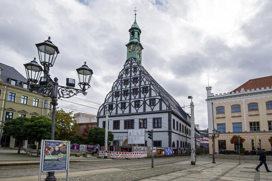 Das Zwickauer Gewandhaus soll in der letzten Woche des Jahres eröffnet werden.