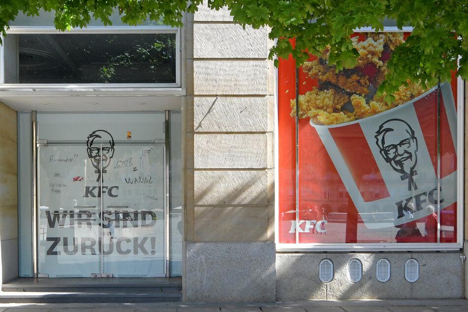 Wann öffnet nun eigentlich Kentucky Fried Chicken in Dresden?