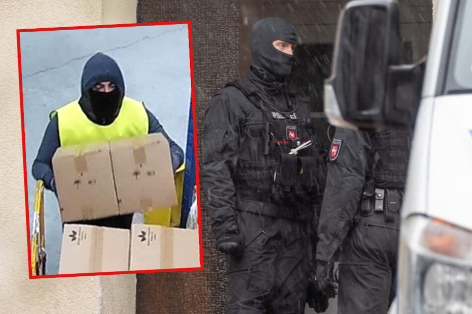 Große Razzia nach Rewe-Raub: 200 Polizisten im Einsatz