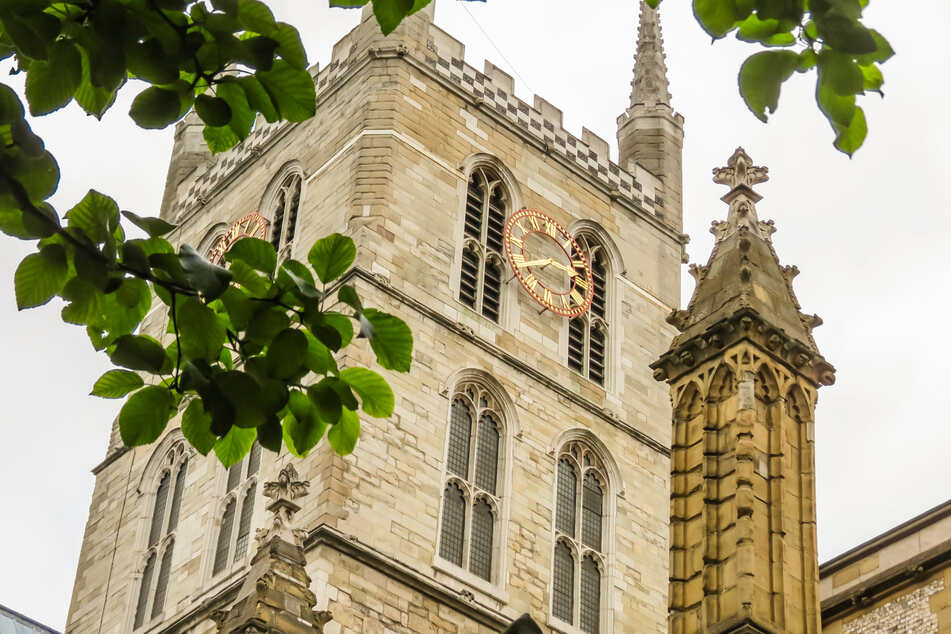 The Southwark Cathedral in London housed a much-loved stray cat for several years.