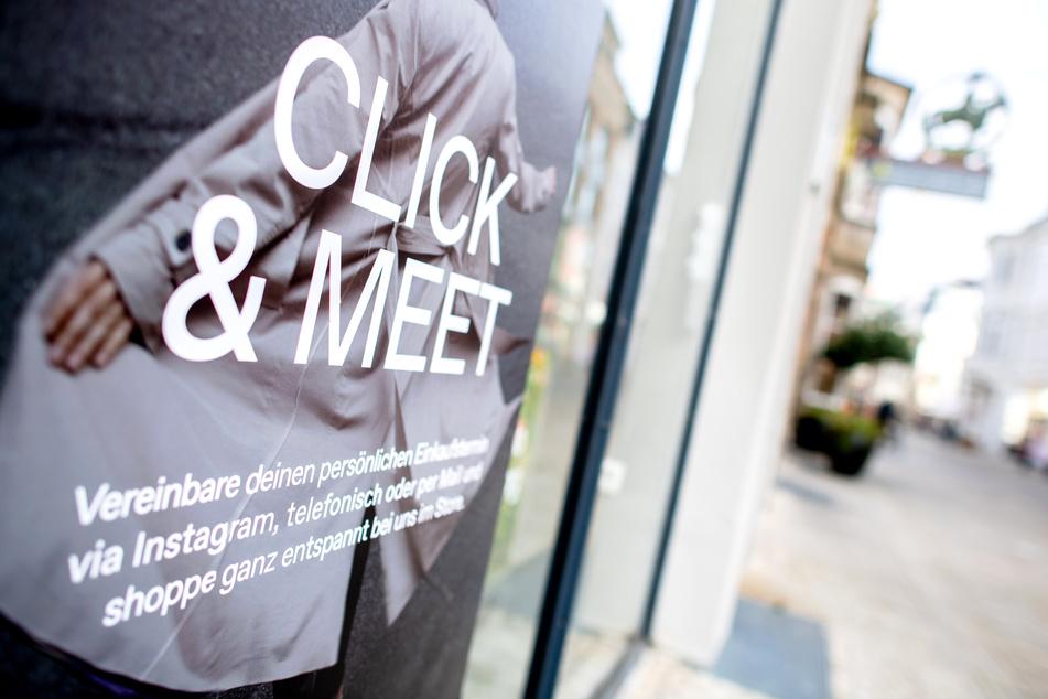 """Das """"Click & Meet""""-Konzept ist ein kleiner Schritt in Richtung Normalität für viele Händler. (Symbolbild)"""