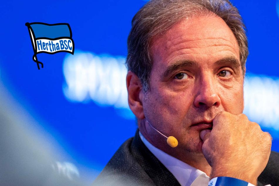 """Hertha BSC: """"Keine Schnellschüsse"""" bei Schmidt-Nachfolge"""