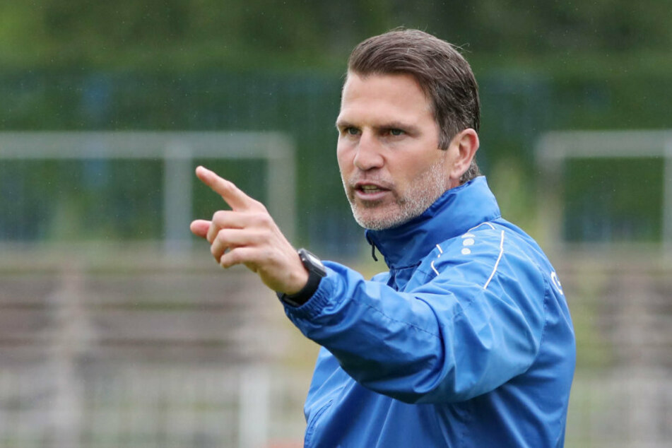 Es geht wieder los! Trainer Patrick Glöckner bereitet sich mit seinem Jungs ab Montag auf das Spiel gegen Jena vor.