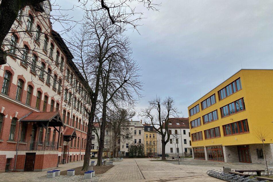 Der Campus des Johannes-Kepler-Gymnasiums.