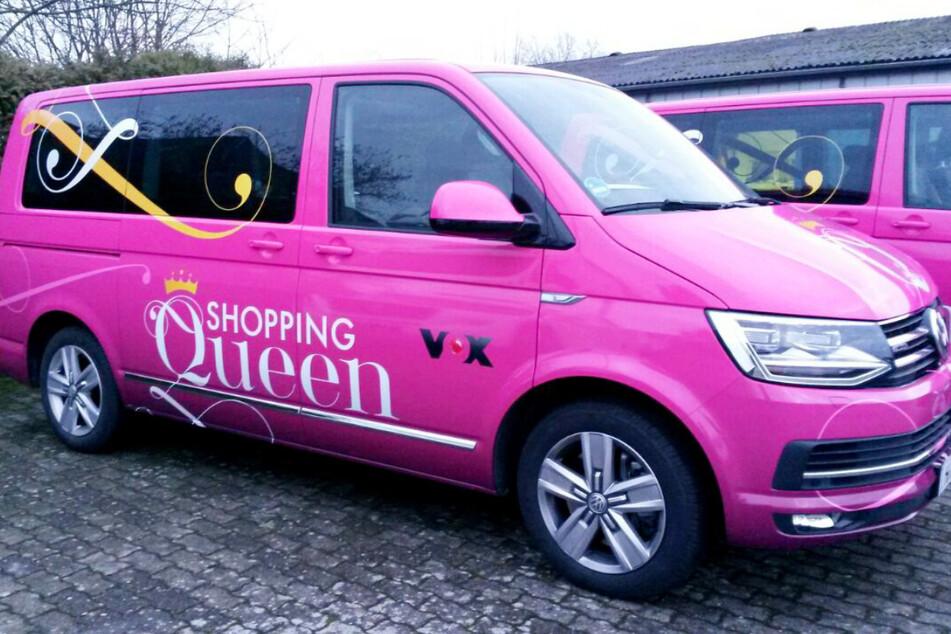 """In dieser Woche war der """"Shopping Queen""""-Bus auf Vox in Frankfurt am Main unterwegs."""
