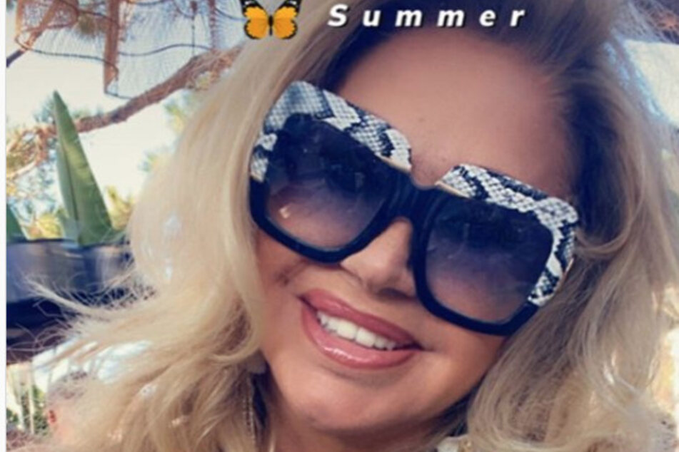 Schlangenhaut? Carmen Geiss entzweit Fans mit Riesenbrille