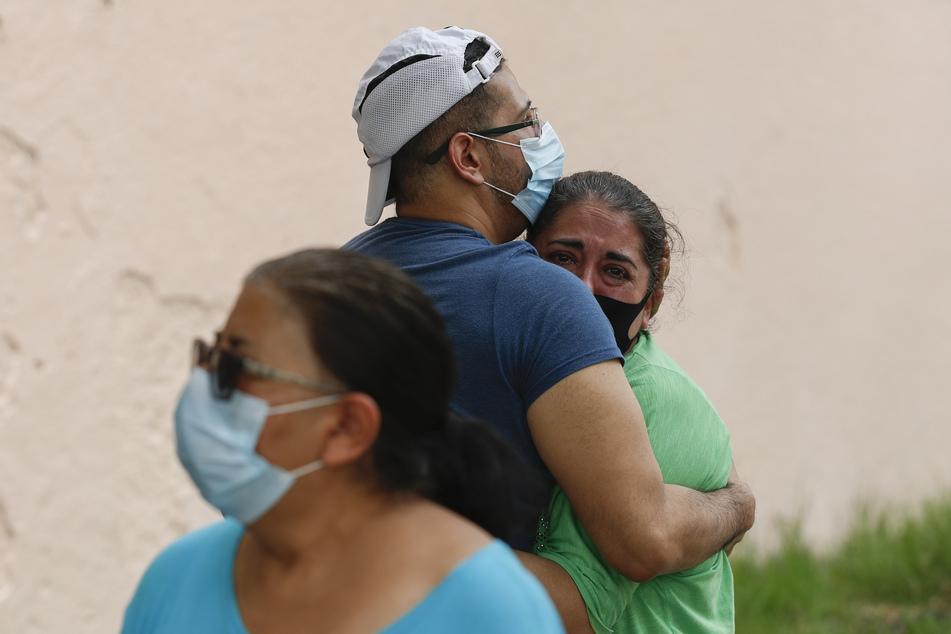 Das Erdbeben versetzte die Menschen in Angst und Schrecken.