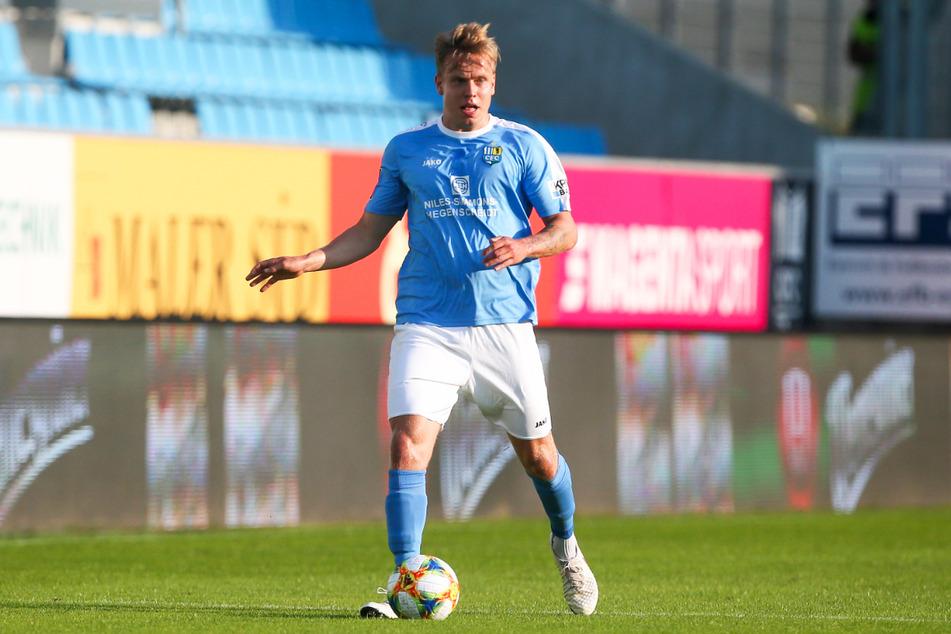 Lennard Maloney (21) lief in der Rückrunde der Saison 2019/20 achtmal für den Chemnitzer FC in der 3. Liga auf, konnte den Abstieg am Ende aber auch nicht verhindern.