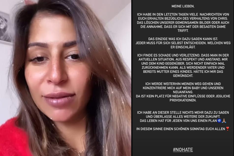 Eva Benetatou (29) hat sich nach der Trennung von ihrem Verlobten Chris Broy (31) mit einem Statement zu Wort gemeldet. (Fotomontage)
