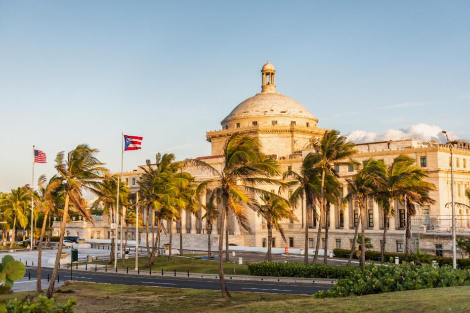 Das Kapitolgebäude in Puerto Ricos Hauptstadt San Juan.
