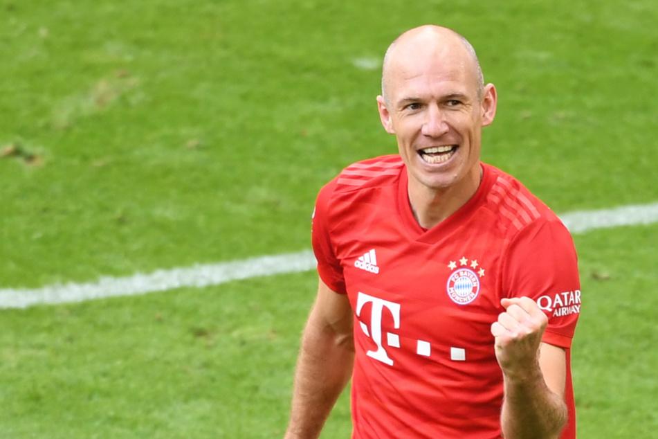 Arjen Robben (36) im Dress des FC Bayern.