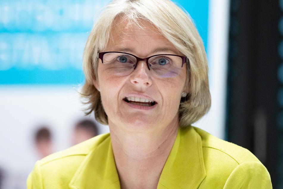 Anja Karliczek (50, CDU), Bundesministerin für Bildung und Forschung.
