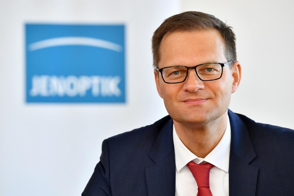 """Jenoptik-Chef Stefan Traeger will in das """"Silicon Valley Deutschlands"""" investieren."""
