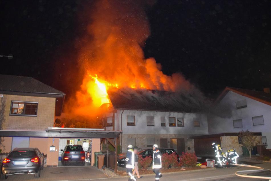 Das Haus ist nach dem verheerenden Brand unbewohnbar.