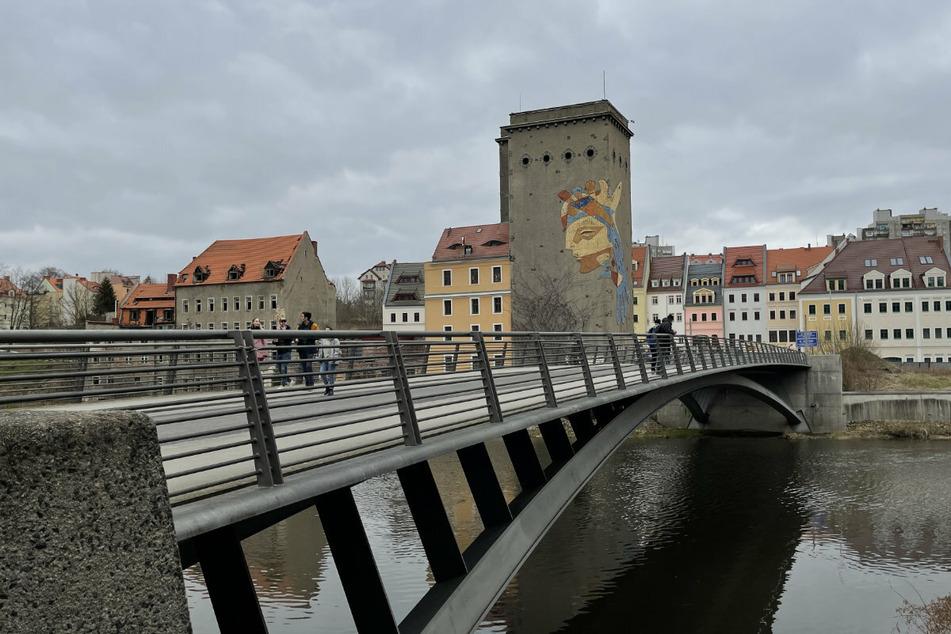 Trotz Testpflicht: Die Friedensbrücke zwischen Görlitz und Zgorzelec ist weiterhin problemlos passierbar.
