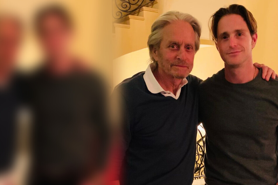 Michael Douglas (76) and his son Cameron Douglas (42) are overjoyed.