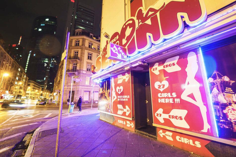 """Auch das Laufhaus """"Sex Inn"""" in der Taunusstraße hat wieder geöffnet."""