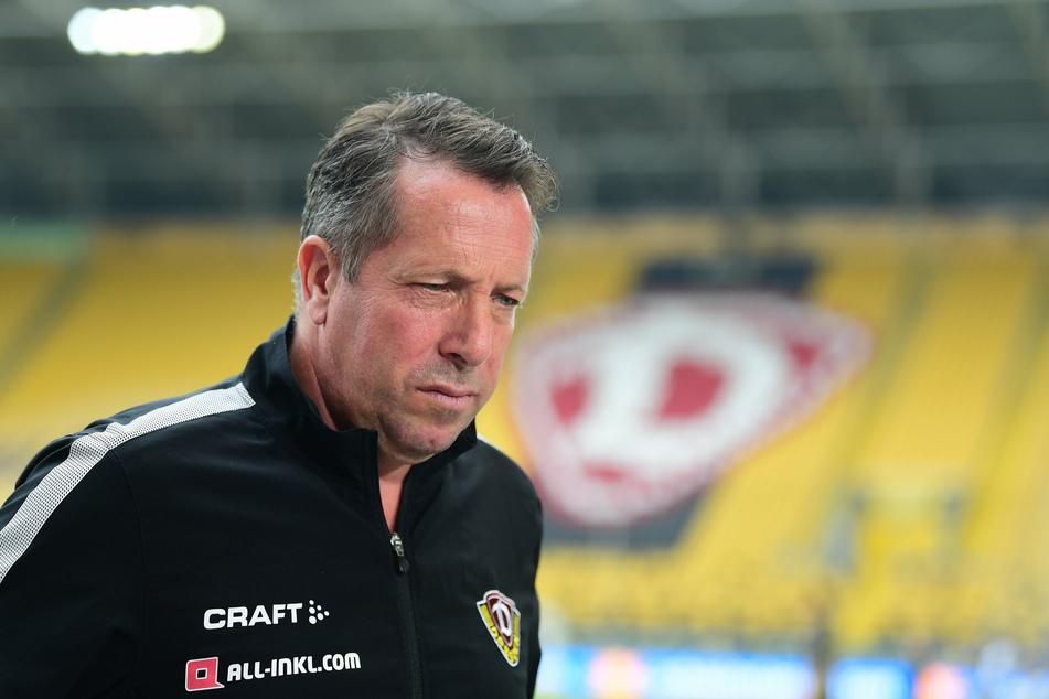 Trainer Markus Kauczinski tut die Niederlage besonders weh.