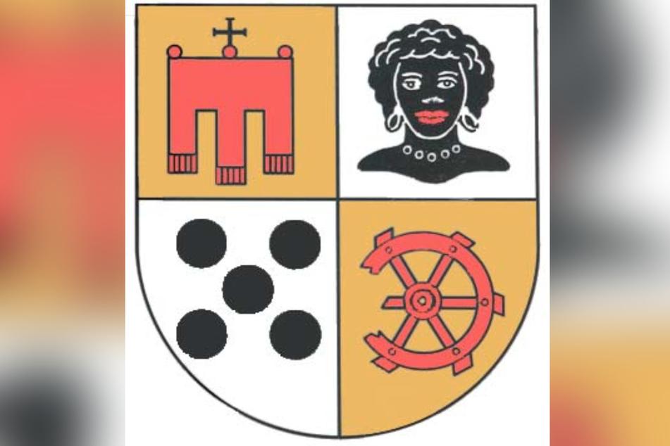 """Ein Bestandteil des Wappens ist der """"Kopf eines Mohren, der aber nicht der ursprüngliche Namensgeber war"""", heißt es auf der Internetseite Möhringens."""