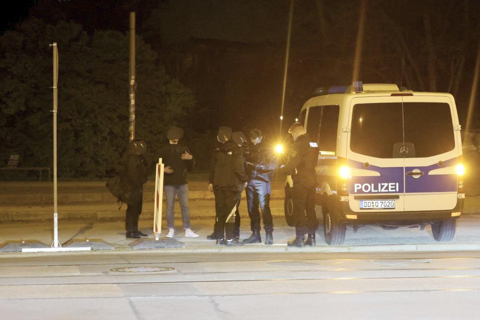 Rund um die Eisenbahnstraße kam es in der Nacht zum Sonntag zu mehreren Polizeieinsätzen.