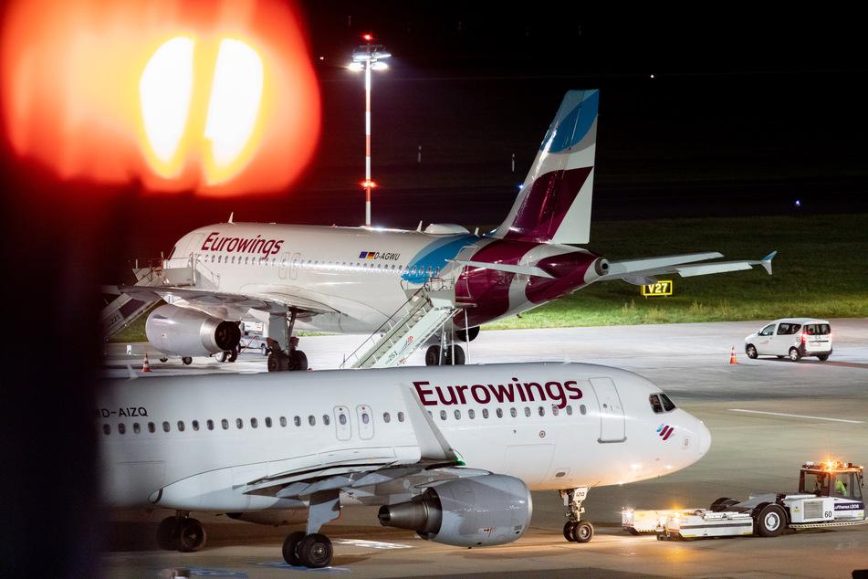 Bei der Lufthansa-Tochter Eurowings gibt es eine Vereinbarung zum Kurzarbeitergeld für die rund 1100 Kabinenbeschäftigten.