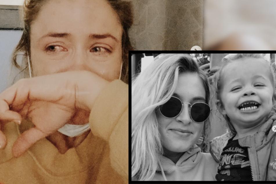 """Influencerin trauert um Tochter: """"Letzter Atemzug in unseren Armen"""""""