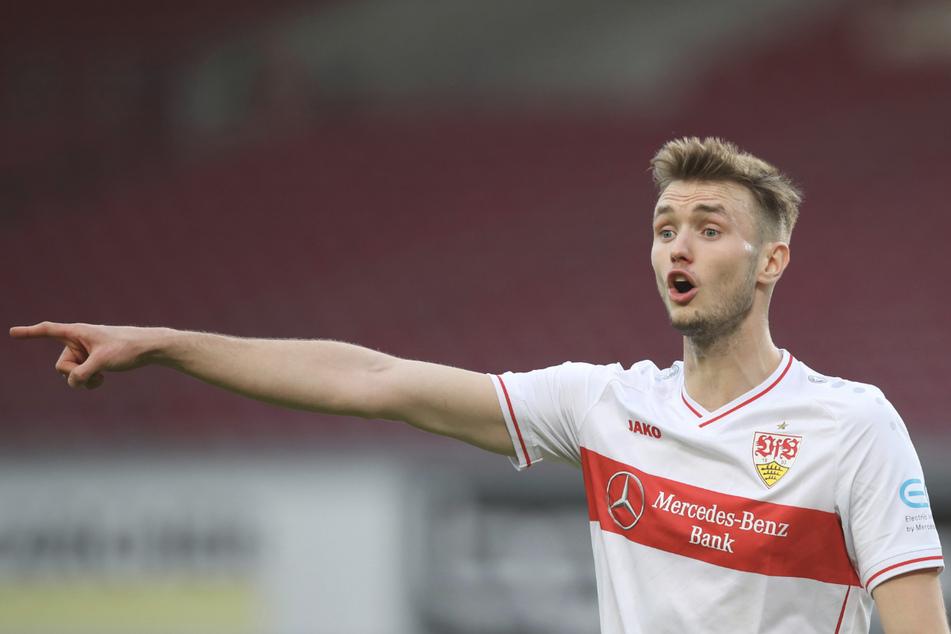VfB-Star Sasa Kalajdzic (24) wurde positiv auf das Coronavirus getestet.