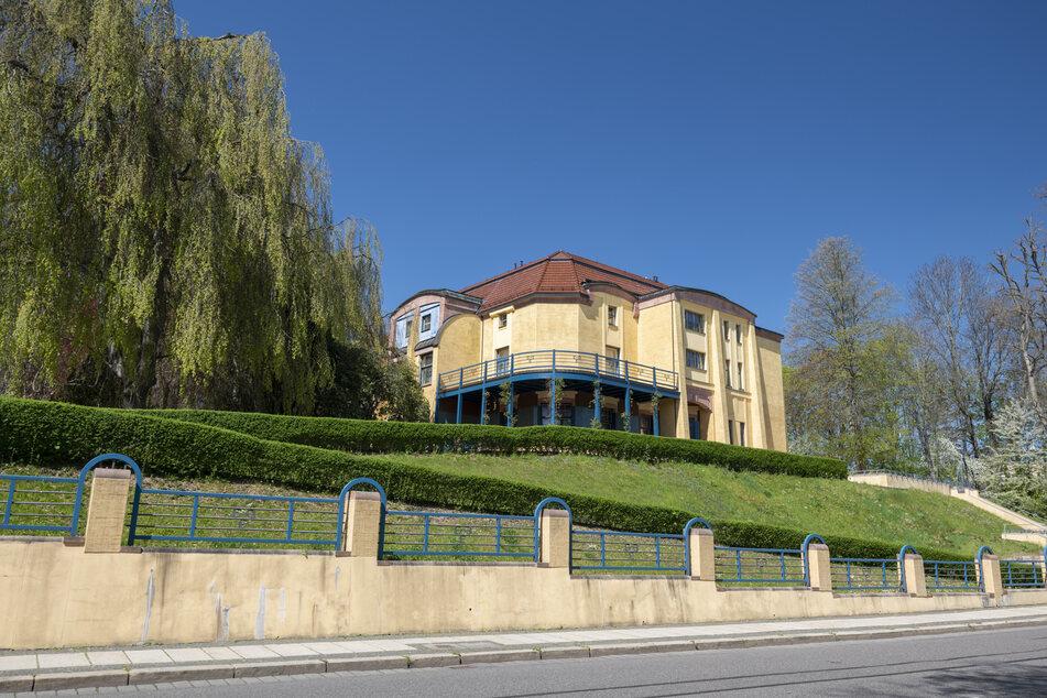 Die Villa Esche wurde 1998 aufwendig saniert.
