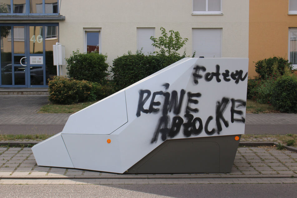 """Superblitzer in Leipzig schon wieder zugeschmiert! """"Reine Abzocke"""""""