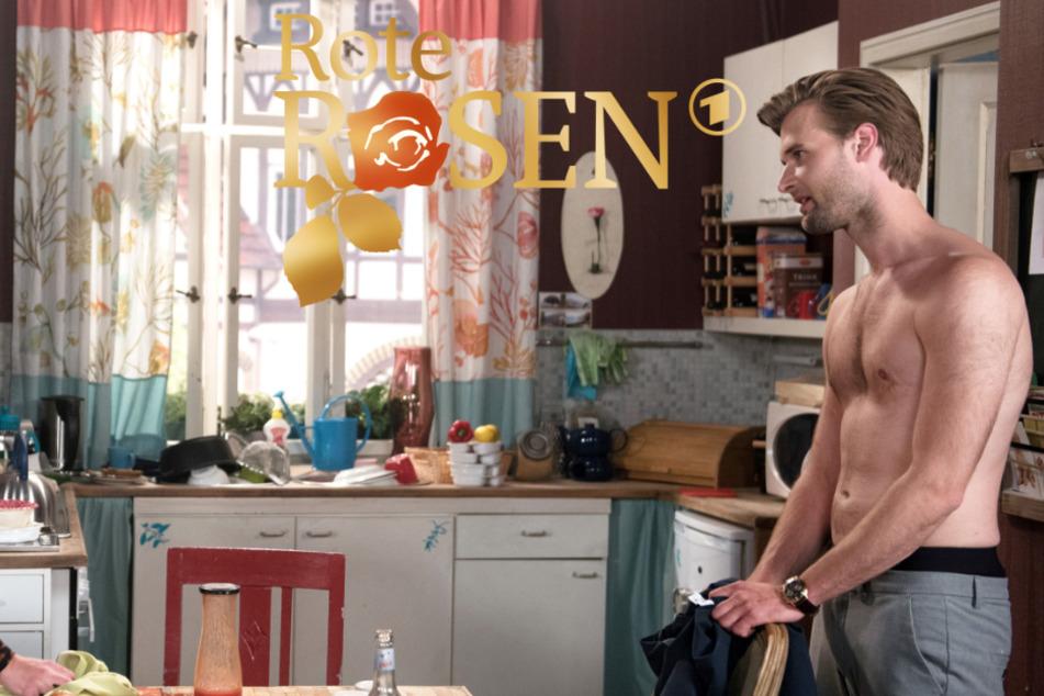 Rote Rosen: Was hält Simon wohl von seiner neuen Verehrerin?