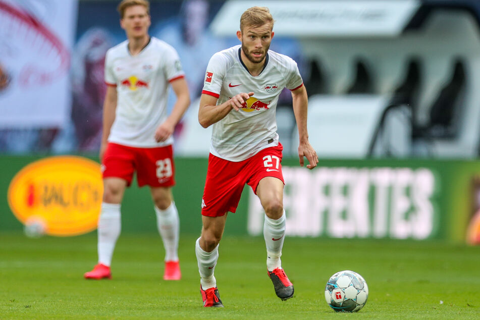 Fußballprofi Konrad Laimer ist der zweite Spieler von Fußball-Bundesligist RB Leipzig, der sich bei Common Goal engagiert.