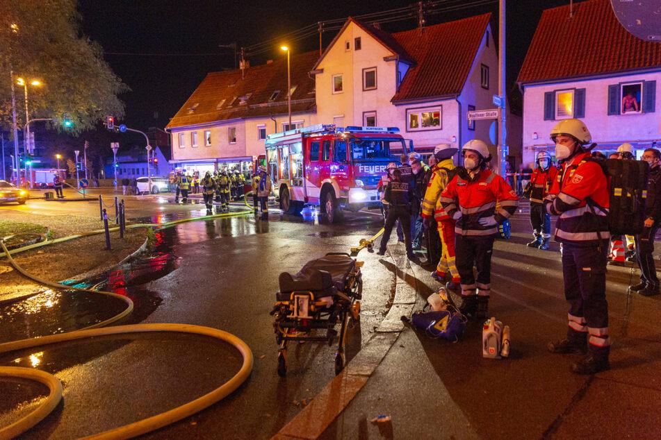 In der Nacht waren 90 Feuerwehrleute im Einsatz.