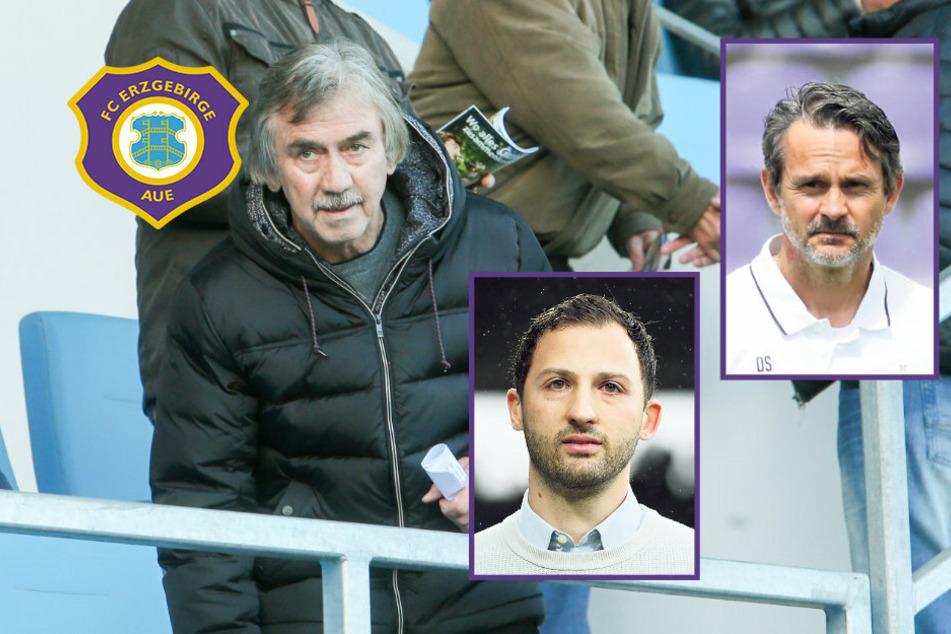 FC Erzgebirge Aue: 15. Zweitliga-Saison, 15. Trainer