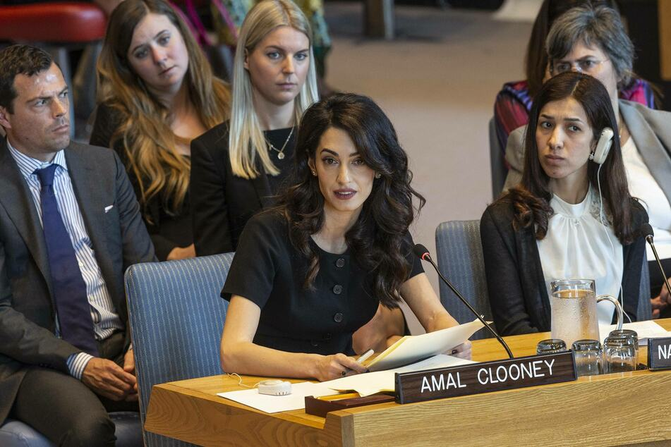 Amal Clooney works is a notable international human rights lawyer.