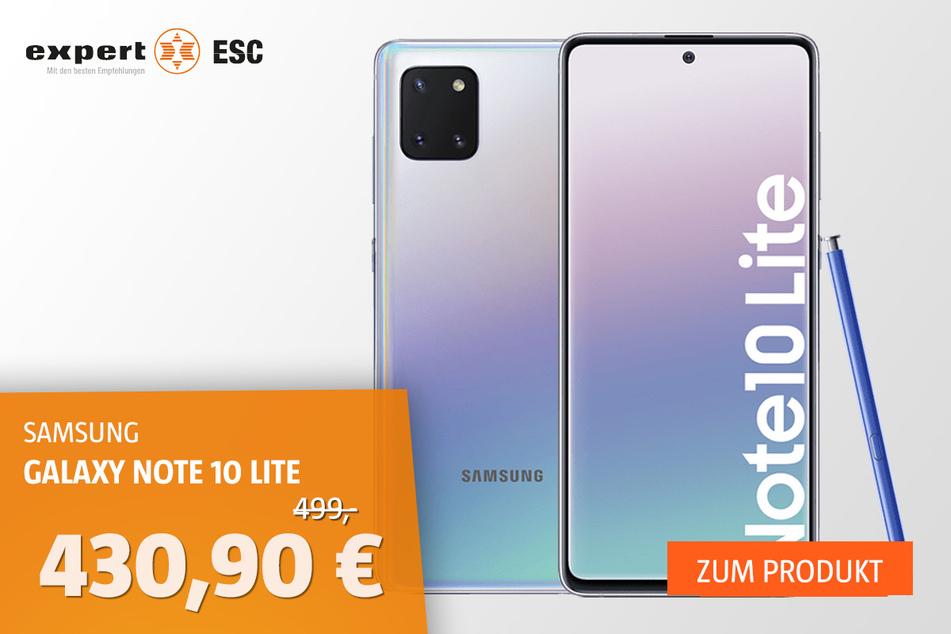 Samsung Galaxy Note10 Lite für 430,90 statt 499 Euro