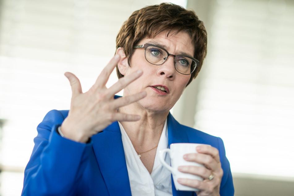 CDU-Bundesvorsitzende und Verteidigungsministerin, Annegret Kramp-Karrenbauer.