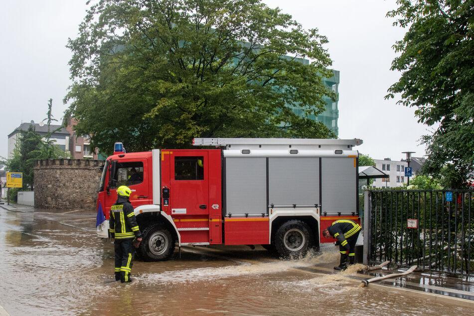 In Eschweiler wurde durch das Hochwasser vieles zerstört.