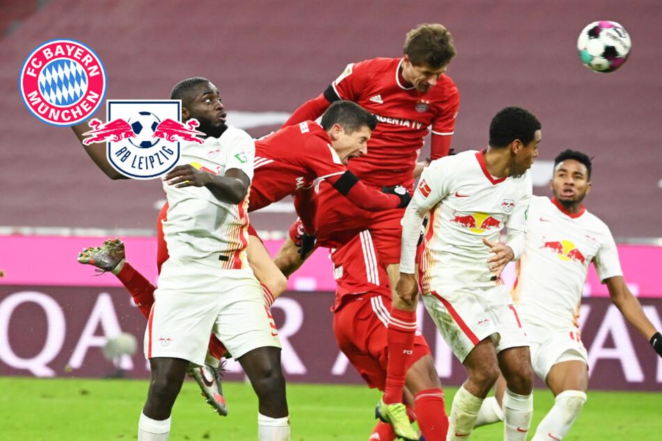 FC Bayern und Leipzig mit irrem Schlagabtausch! RB verlangt dem Meister alles ab