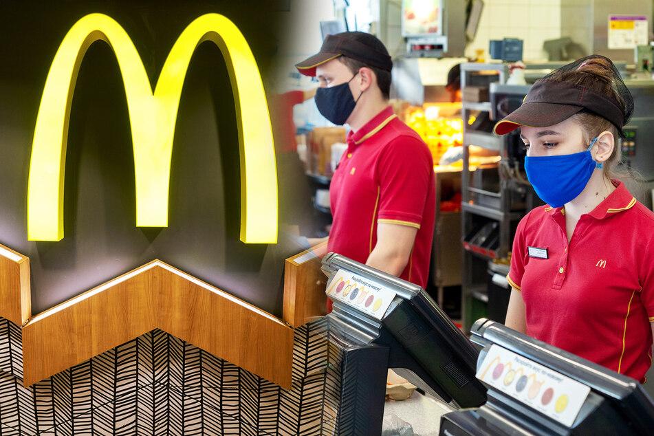 """McDonald's-Mitarbeiter mit Corona infiziert, weil sie """"spezielle"""" Schutzmasken tragen sollen"""