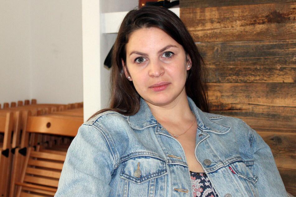 Die Aktivistin Anna Riwina will mit ihrer Organisation das Thema häusliche Gewalt mehr in die russische Öffentlichkeit bringen.
