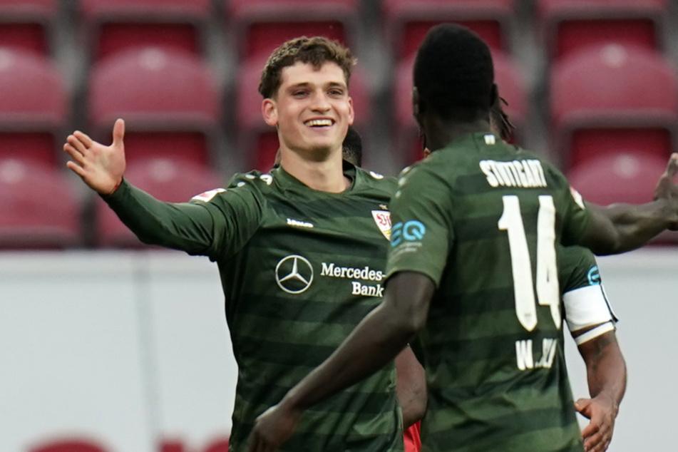 Großer Jubel: Gegen Mainz 05 erzielte Mateo Klimowicz (20) sein erstes Bundesliga-Tor.