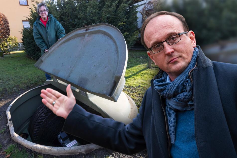 Millionen-Zoff um letzte Sickergruben in Chemnitz: Anschluss an Kläranlage dauert noch