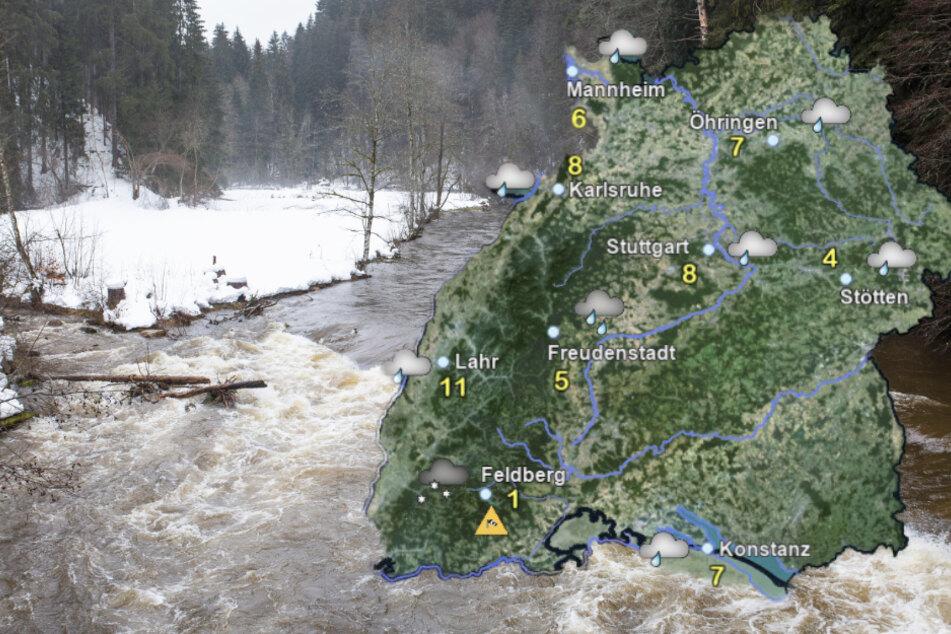 Frost, Glätte und Tauwetter in Baden-Württemberg